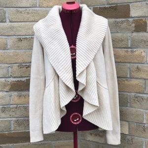 Diane von Furstenberg DVF Hoxer Short Rib Sweater